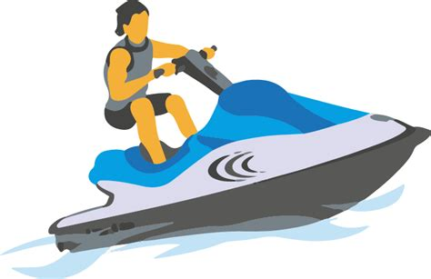 jet boat cartoon images stand up jet ski cartoon images