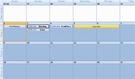 Microsoft Calendar Control Download