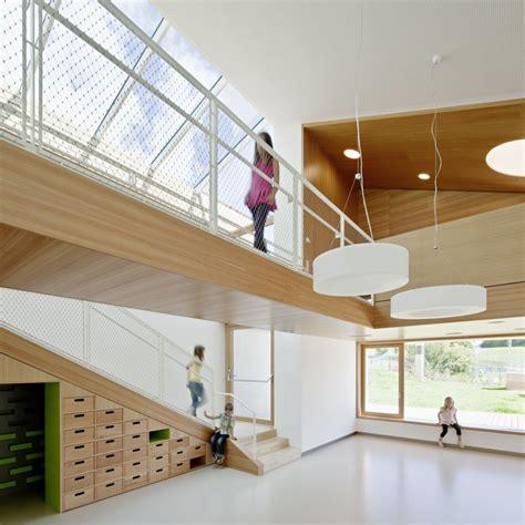 Architecture Design Ideas by Interior Kindergarten Terenten Design By Feld72 Architects