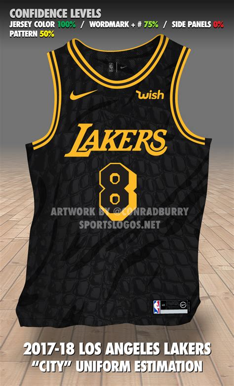 lakers jersey design check out an early mock up of the lakers final nike