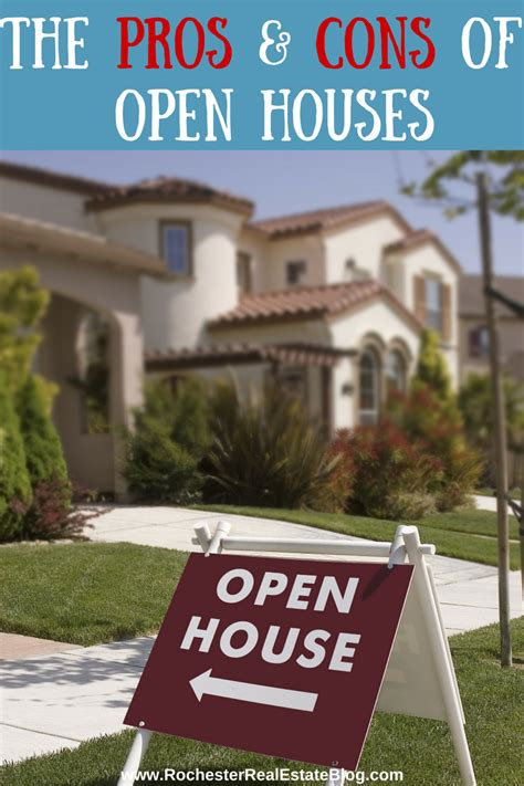 open houses real estate the pros and cons of open houses in real estate