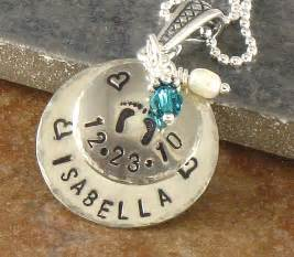 baby personalized jewelry s new baby necklace personalized new jewelry