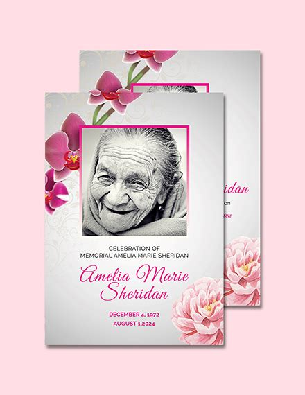 Free Funeral Memorial Card Template Download 232 Cards In Psd Illustrator Indesign Word Memorial Cards For Funeral Template