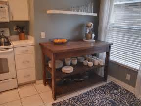 Plans For Building A Kitchen Island by Domestic Jenny Diy Kitchen Island Plans