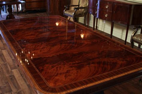 huge dining room table extra large dining room table high end american finished