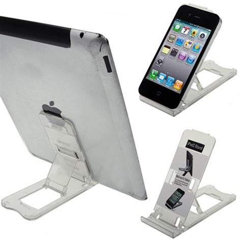tablet iphone desk stand holder mobile phone folding