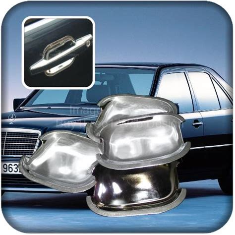 Trunk Lid Cover Bagasi Chrome Mercedes W124 Wagon chrome trim for mercedes