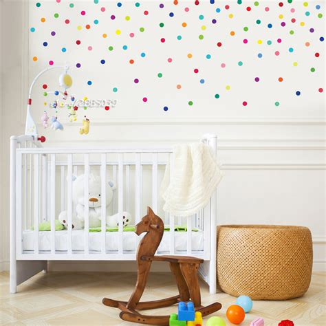polka dot wall sticker aliexpress buy 120pcs set polka dot wall sticker