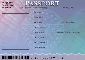 passport template for passport template for out of darkness