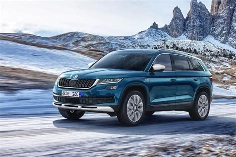 cars new skoda kodiaq scout revealed with added road