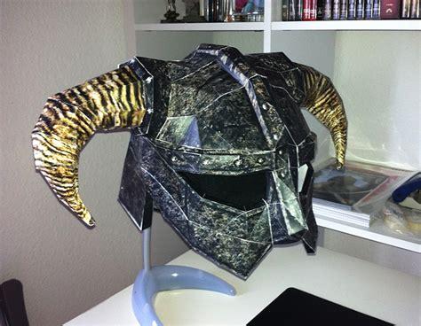 Papercraft Armor - dovahkiin helmet papercraft by kaio89 on deviantart