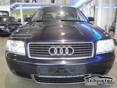 2002 audi a6 tdi 2 5 automatic air conditioning shz alu car photo and specs