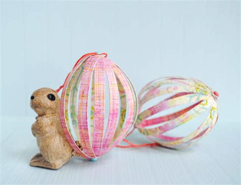 Paper Easter Crafts - zakka craft paper easter eggs