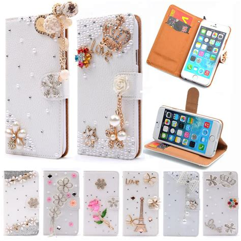 Softcase Mirror For Iphone 6g 6g 6s luxury wallet stand flip leather for