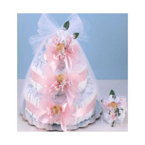 diaper cake delight pink