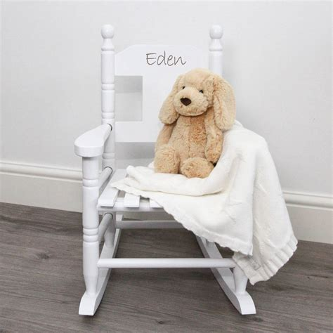 Personalised Childs Rocking Chair by Personalised Child S Rocking Chair By 1st Years