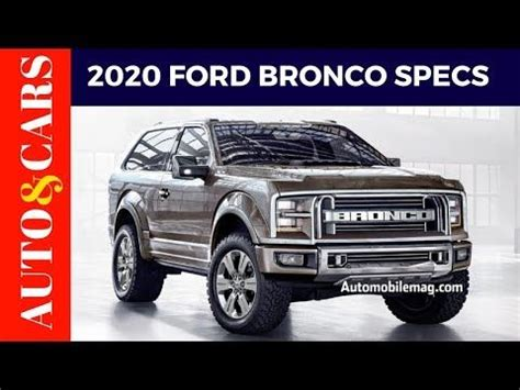 2020 Ford Bronco Jalopnik 2020 ford bronco jalopnik price specs review best new