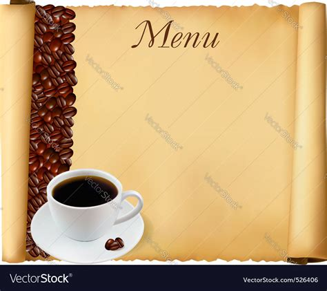 coffee menu wallpaper menu background