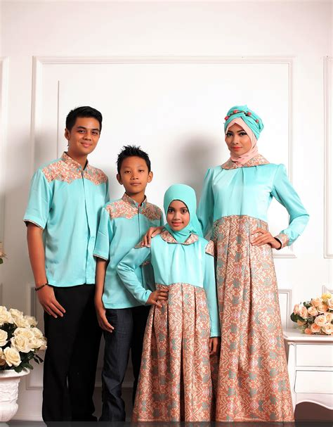 Baju Muslim Keluarga contoh baju muslim batik keluarga 28 images koleksi baju muslim batik keluarga terbaru 2015