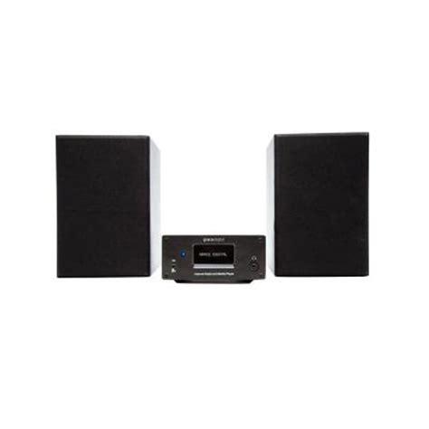 Home Shelf Stereo Systems by Grace Digital Wireless G Micro Shelf Stereo System Gdi
