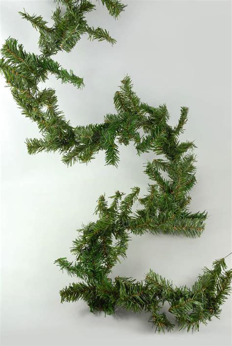 artificial canadian pine garland 9 x 8 quot