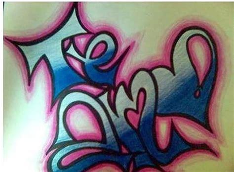 imagenes que digan natalia grafitis que digan teamo imagui