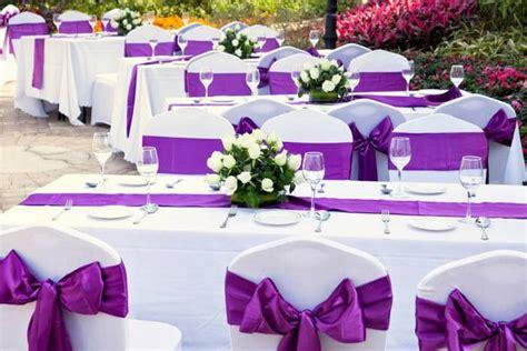 Hochzeitsdeko Lila by Tischdekoration Zur Hochzeit Tipps Ideen