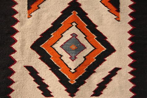 antique navajo rug tribal geometric pattern at 1stdibs