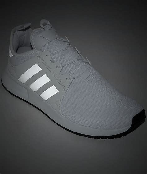 adidas xplorer white reflective shoes zumiez