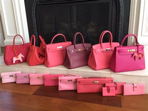 H Mes Birkin Ghillies B30 purple pink color family pics only page 35 purseforum