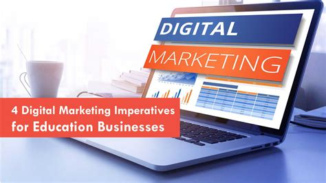 Marketing Education 2 by 4 Digital Marketing Imperatives For Education Businesses