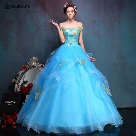 Dress Princes 2 real photo vintage forest dress princess appliques