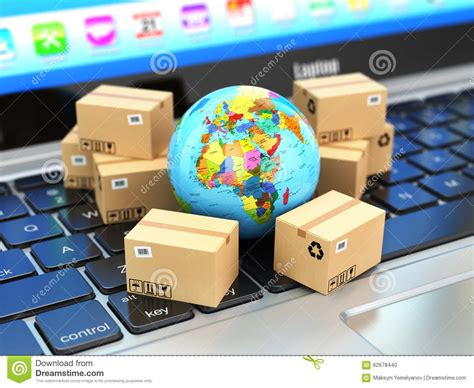 Free Delivery The Earth shipping delivery and logistic concept earth and