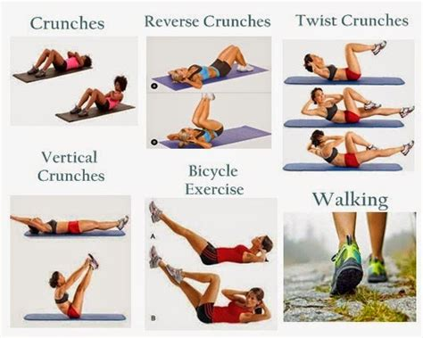 simple workouts to lose belly exercises to lose