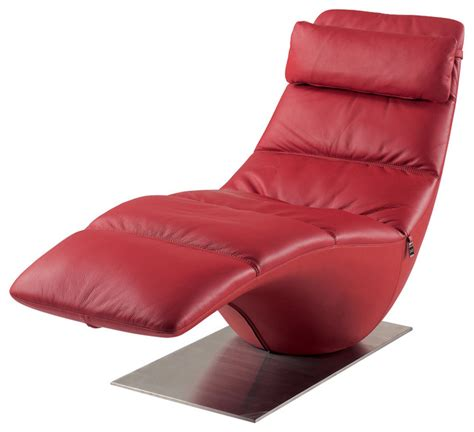 red leather chaise lounge chair zola red leather contemporary lounge chaise contemporary