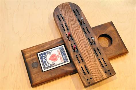 How To Make A Cribbage Board One Project Closer Wood Project Templates