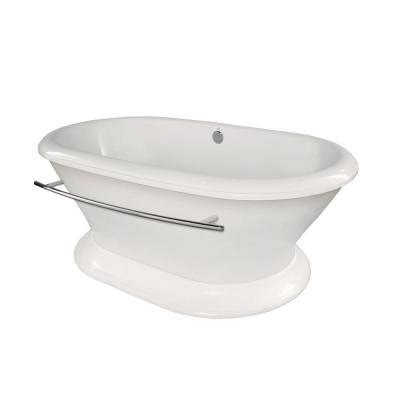 Hydro Bathtub by Hydro Systems Augusta Acrylic Freestanding Air Bath Tub