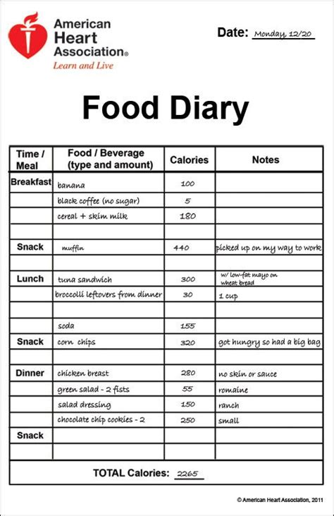 17 best images about daily food journal ideas on pinterest