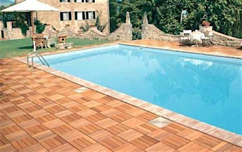piastrelle flottanti pool house piastrelle flottanti per esterno