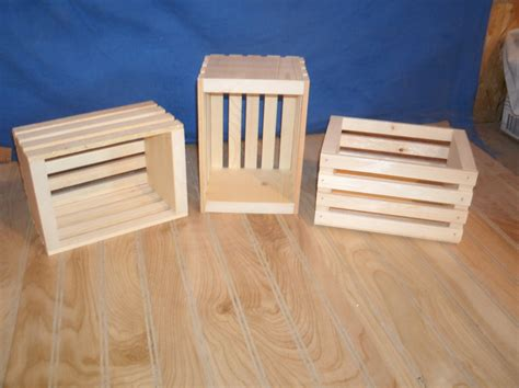 small crates 10 small wood crates unfinished wood crates wooden crate