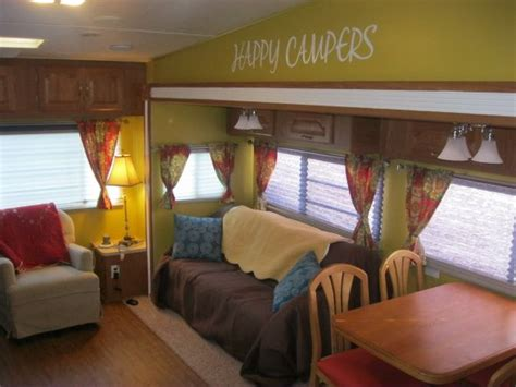 rv renovation ideas cute cer interior truck trailer pinterest happy