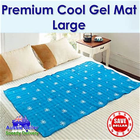 Non Toxic Mattress Australia by Large Cool Gel Mattress Bed Pad Cooling Non Toxic Summer