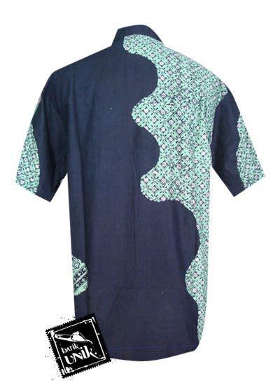 Busana Muslim M13 kemeja batik primis motif lukis batik etnik batik pria