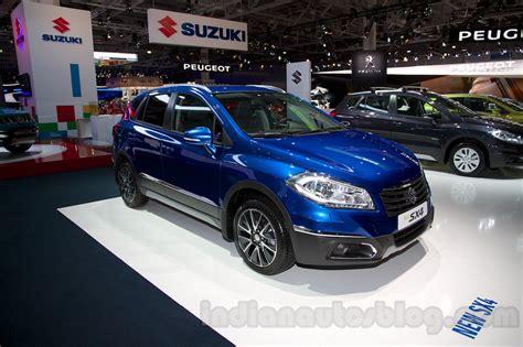 New Maruti Suzuki Sx4 2014 New Suzuki Sx4 At The 2014 Moscow Motor Show Front