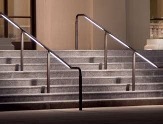 Illuminated Handrails landscapeonline design build maintain supply