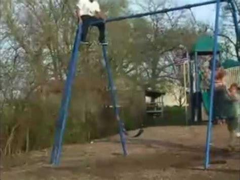 people falling off swings women falls off a swing youtube
