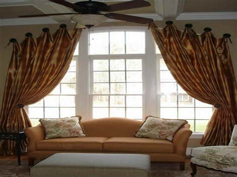 Living Room Window Curtain Ideas by Living Room Window Curtains Ideas