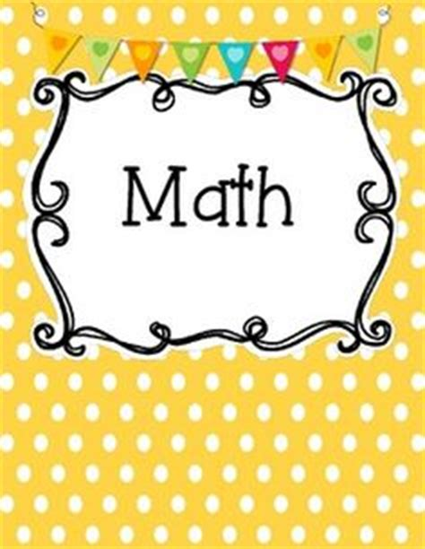 printable math binder covers 1000 images about free printables on pinterest binder