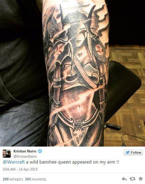 hodor gets epic sylvannas tattoo geekshizzle