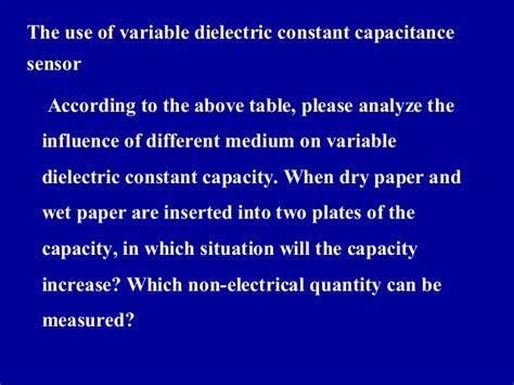 capacitor with varying dielectric constant capacitor with varying dielectric constant 28 images level measurement chapter 9 capacitors